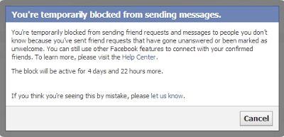 Why my messages are blocked