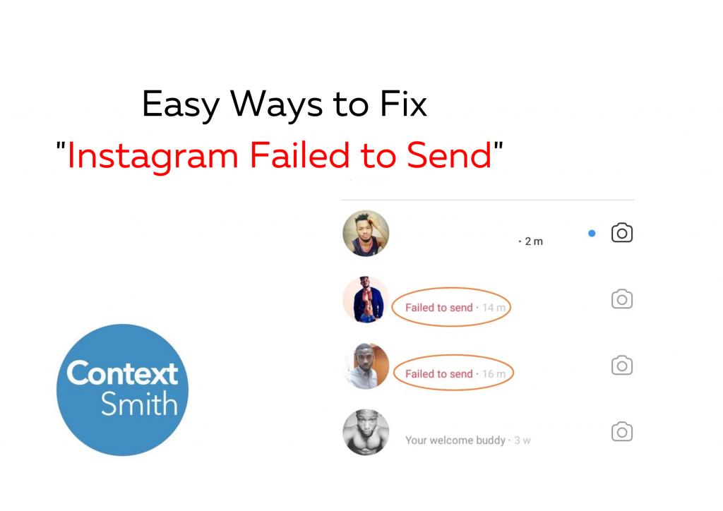 Easy Ways To Fix Instagram Failed To Send Error