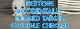How to reopen closed windows on google chrome