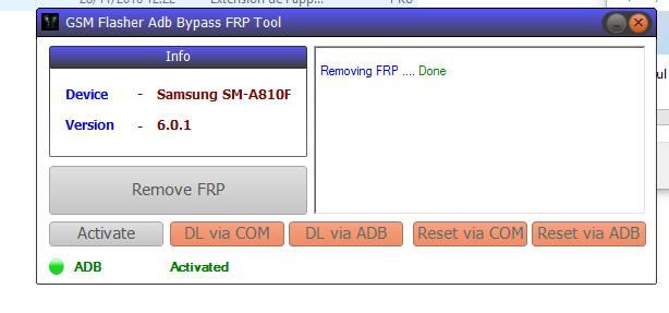 GSM Flasher ADB Bypass Tool