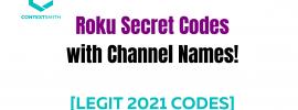 Roku Secret Codes
