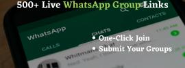 WhatsApp Group Links 2021