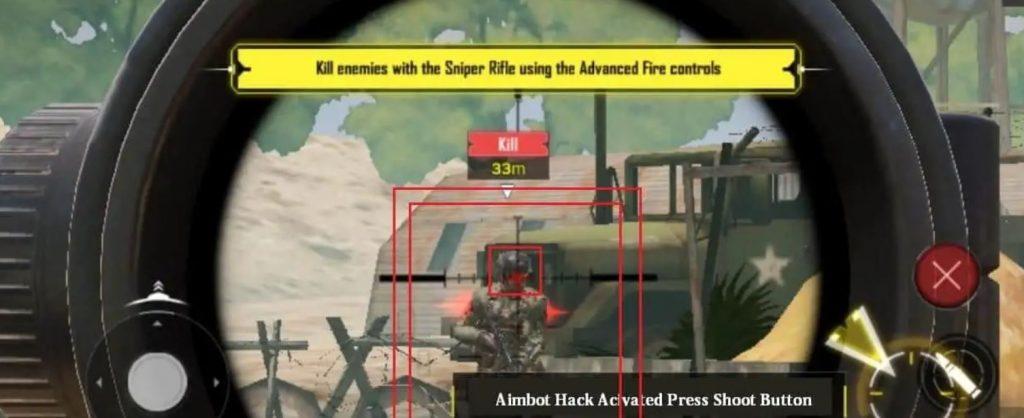 sniper hack cod