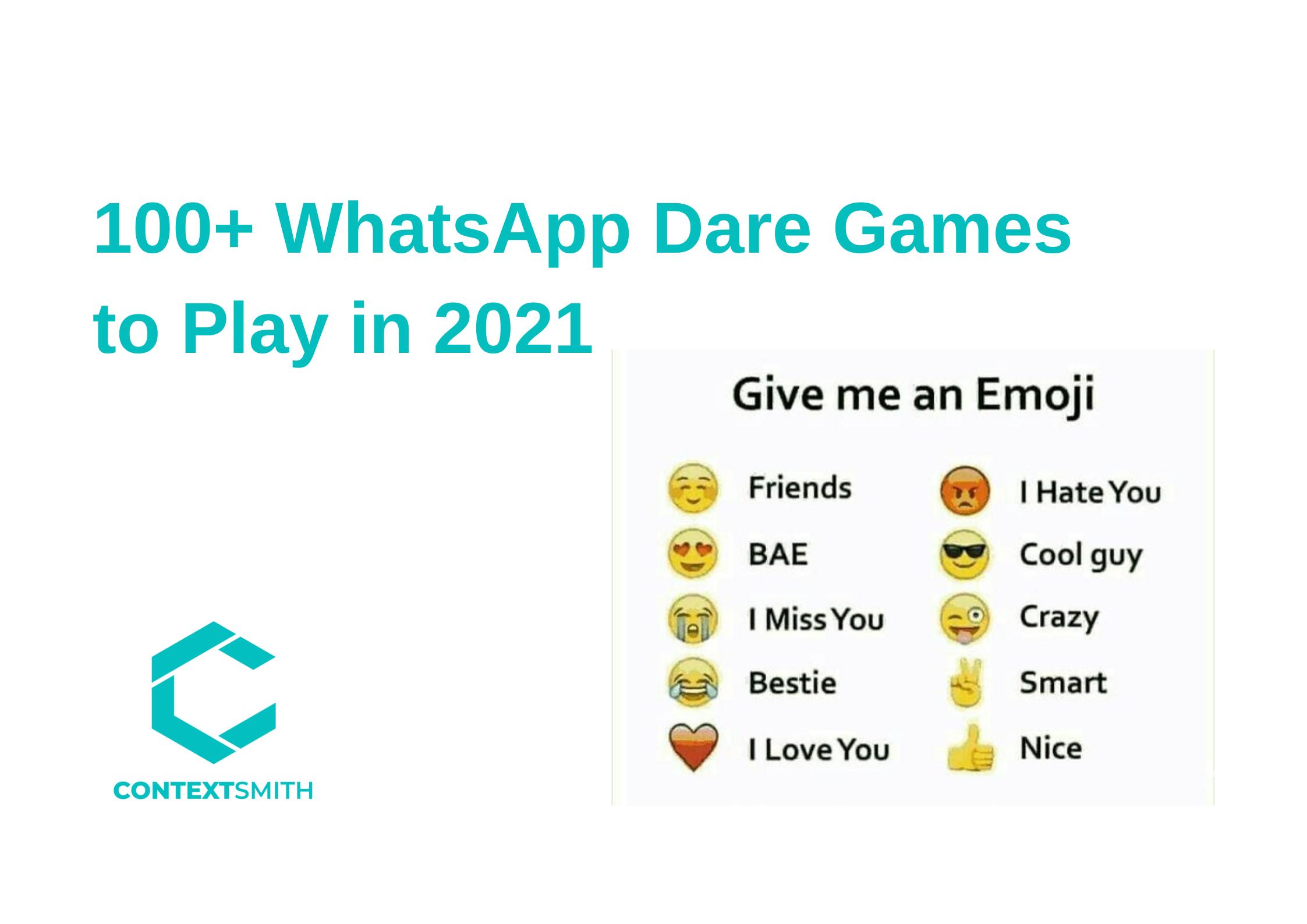Whatsapp Dare Games